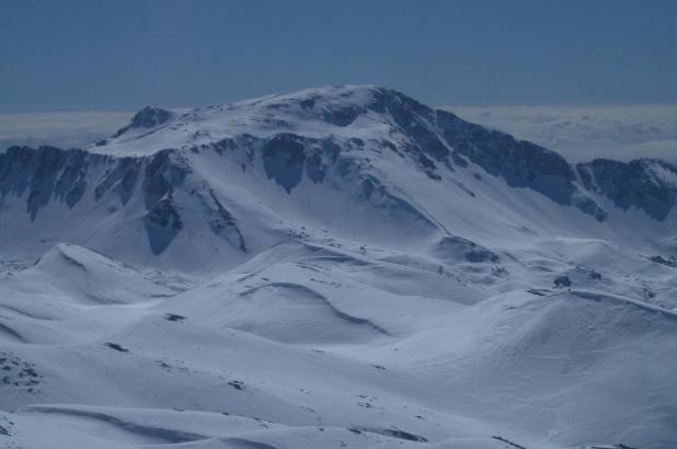 Vista panorámica de Prati di Mezzo en Picinisco