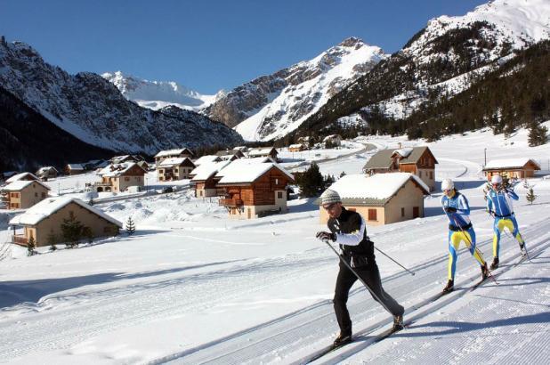 Esquí de fondo en Queyras