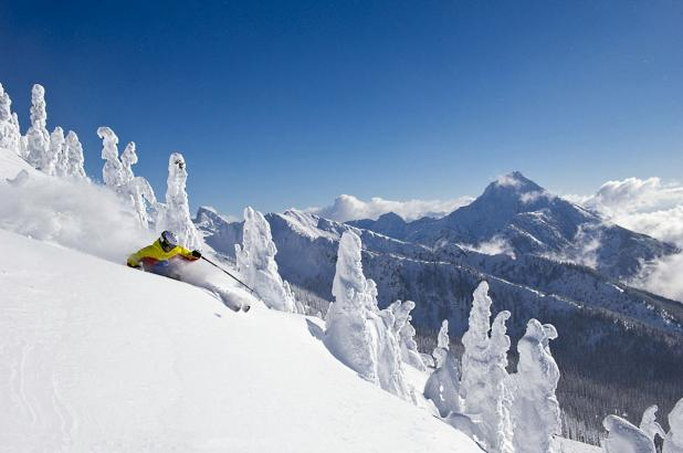 Freeride en Revelstoke Mountain Resort