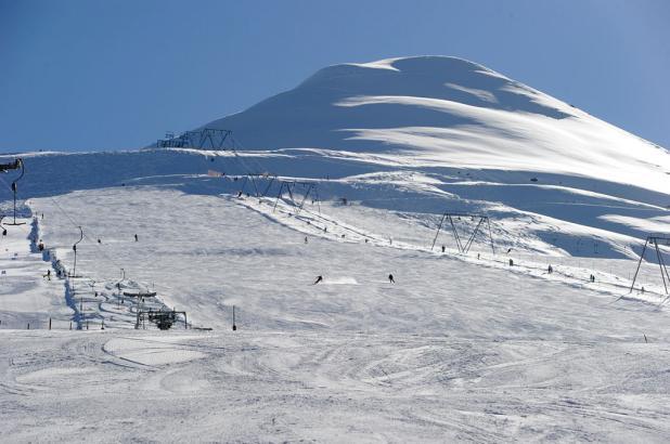 Esquiando en Rinerhorn