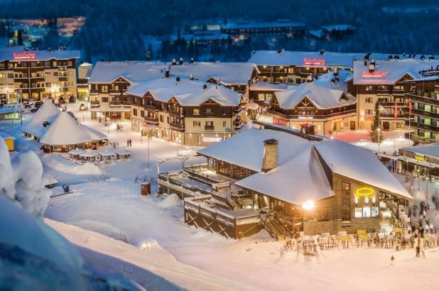 Estación de esquí de Ruka, crédito imagen © Patrick Forsblom