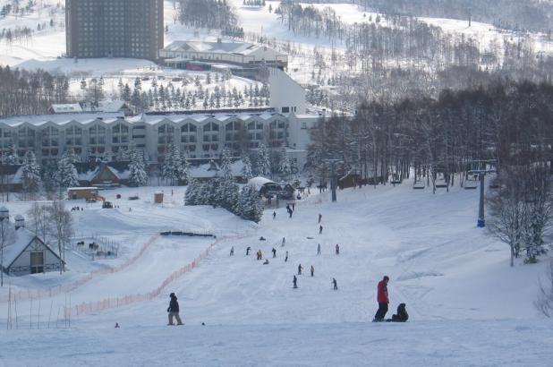 Esquiando en Rusutsu