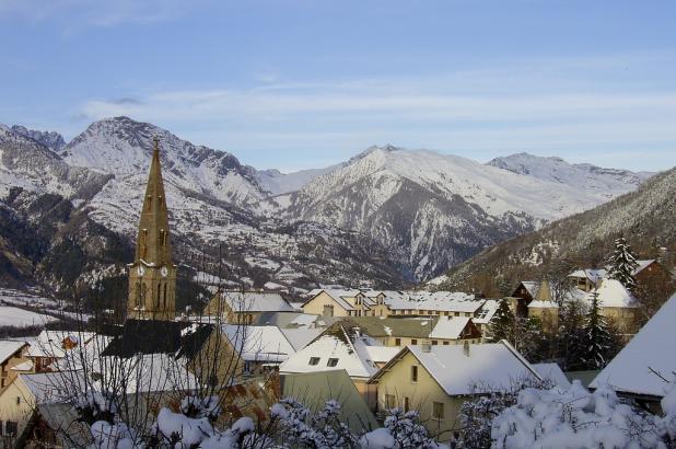 Imagen del pueblo de Saint Léger les Mélèzes