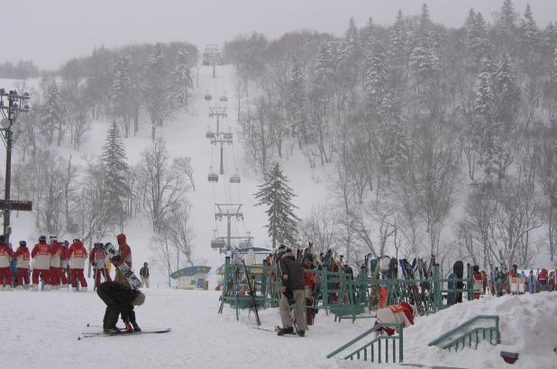 Telesilla en Sapporo Kokusai