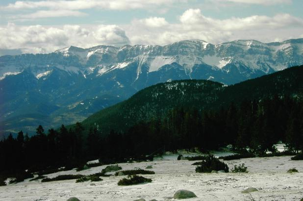 Vistas de la Sierra del Cadí