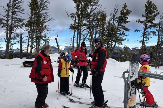 Ski Patrol en Showdown