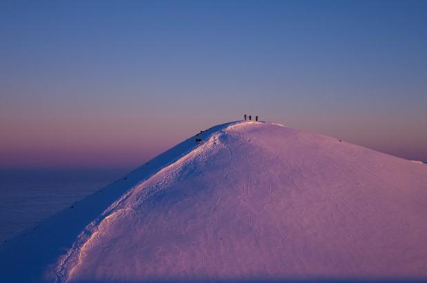 Esquí en Mauna kea, Hawaii