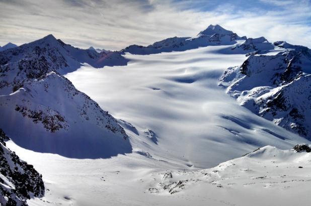 Magnífica imagen de Sölden Wildspitze