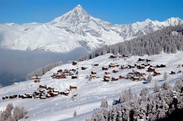 Increíbles vistas en Staldenried-Gspon