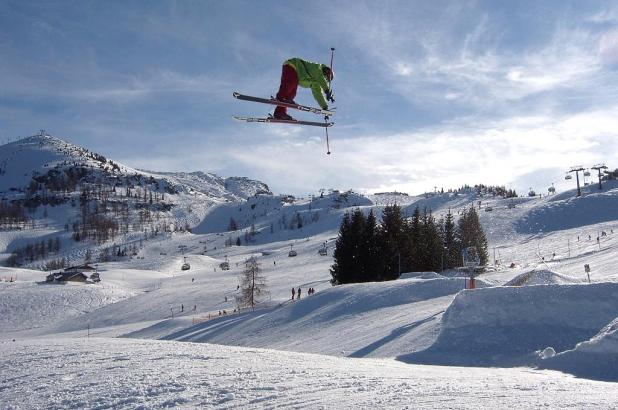 Freestyle en Steinplatte, tirol austríaco