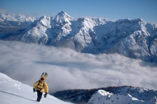 Glaciar de Stubai en el Tirol