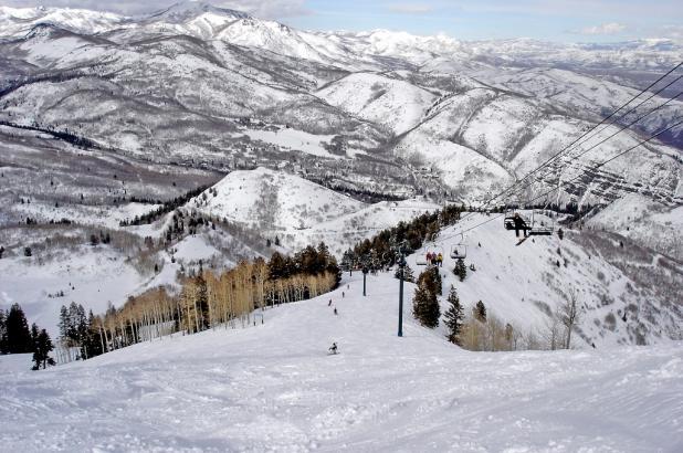 Esquiando en Sundance