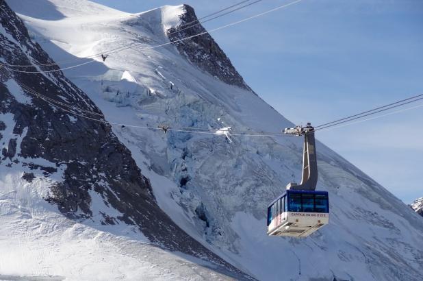 Imagen del teleférico de la Grande Motte.