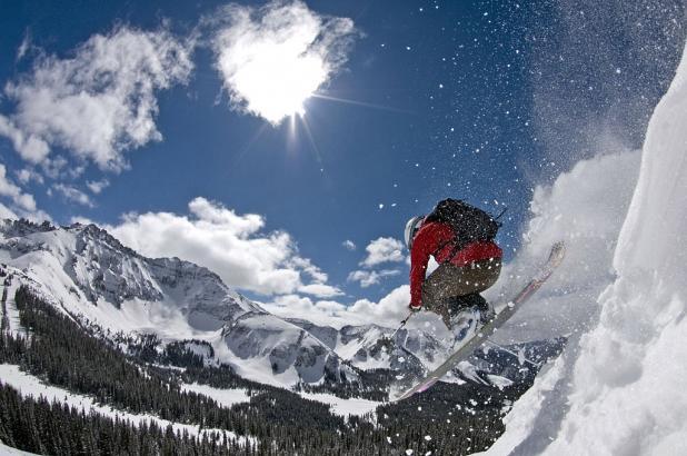 Espectacular imagen de Telluride en Colorado.
