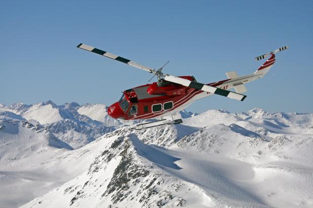 Helicóptero de TLH Heliskiing