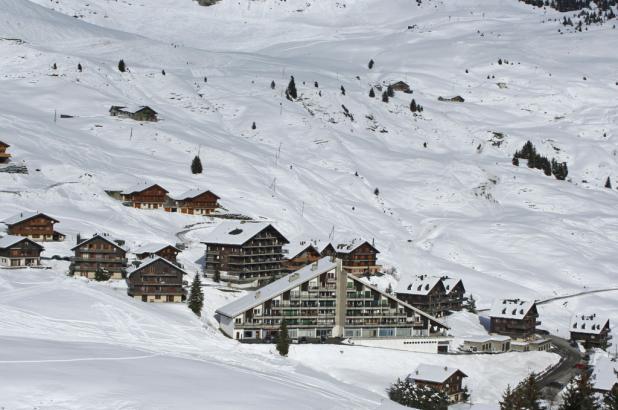 Día de esquí en Torgon