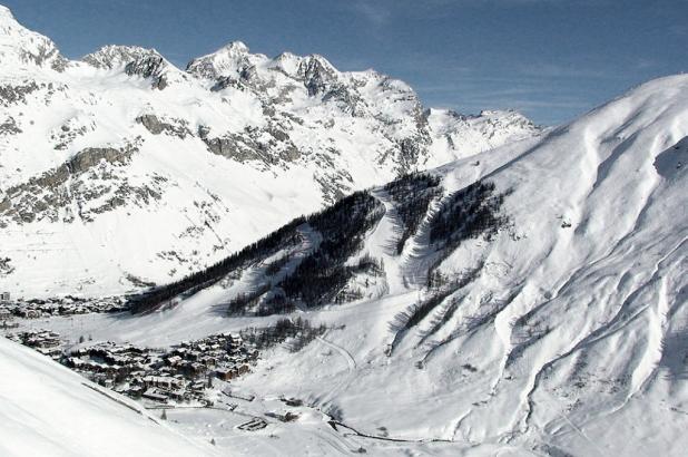 Val d'Isere en febrero