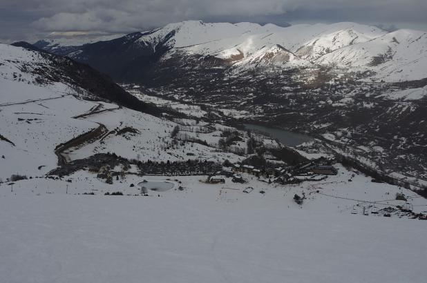 Día nublado en Val Louron