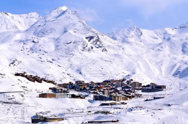 Imagen de la estación de esquí de Val Thorens