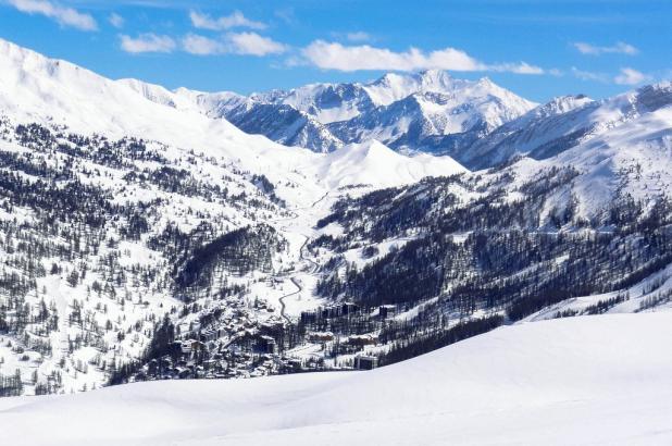 Aspecto de Vars en los Alpes de Haute Provence