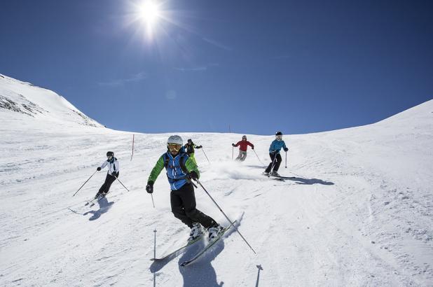 Esquiando en Venet