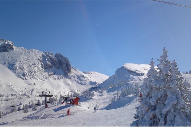 Dominio esquiable de Villard de Lans-corrençon en vercors