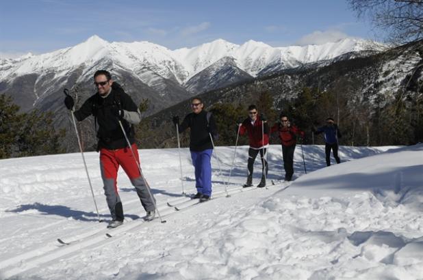 Esquí de fondo en Virós-Vallferrera