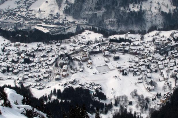 Vista de Wengen