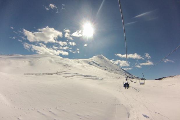 Imagen del Volcán Osorno, en Chile.