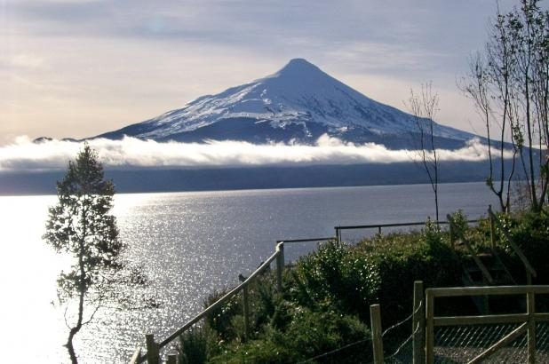 Una espectacular imagen del Volcán Osorno.