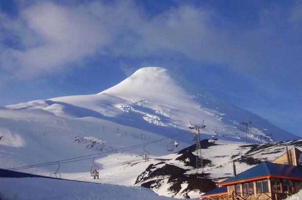 Magnífica imagen del Volcán Osorno, crédito mario.