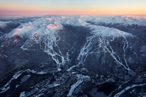 Whistler y Blackcomb, las dos montañas