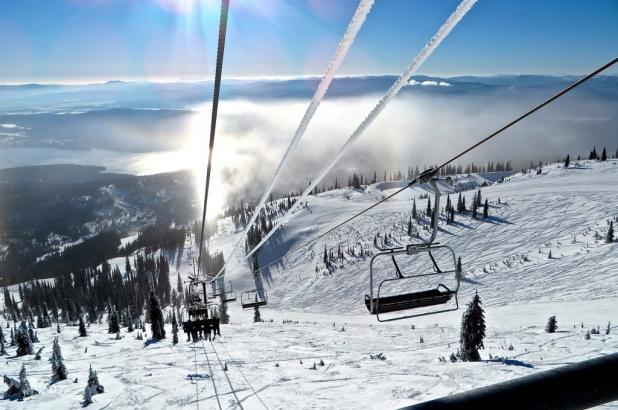 Bonita imagen de Whitefish Mountain Resort