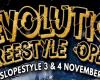 Vuelve la Revolution Freestyle Open 2018: 3 y el 4 de Noviembre