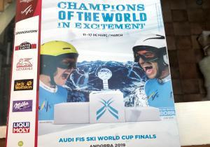 Finales de la Copa del Mundo de esquí alpino Andorra'19: Competir y emocionar