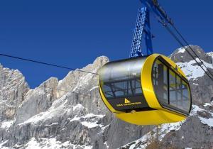 El nuevo teleférico Panorama de Dachstein, se prepara para su inauguración el próximo julio