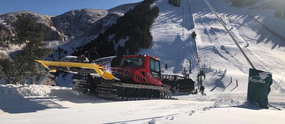 Masella abre este miércoles la temporada de esquí 2019-20 y vuelve a ser la primera de la Península