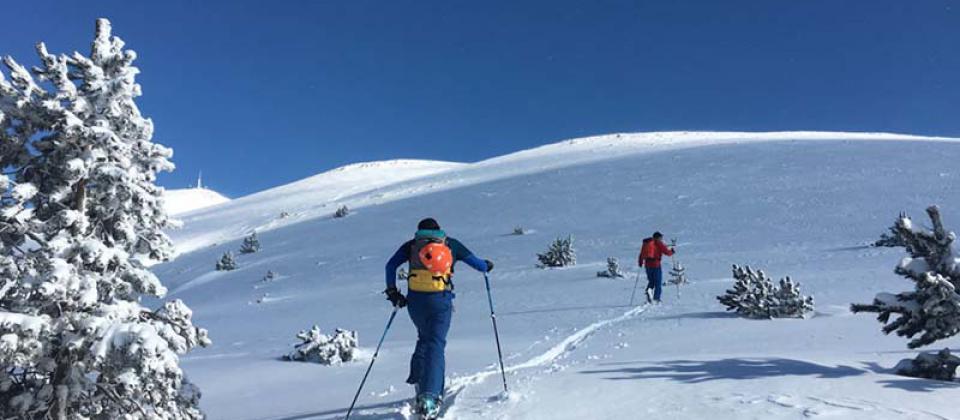 Abril, llega el momento propicio para iniciarse en el esquí de montaña