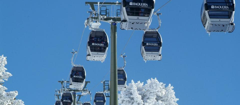 Las estaciones de esquí catalanas han perdido el 69,4% de ingresos y el 68,3% de esquiadores
