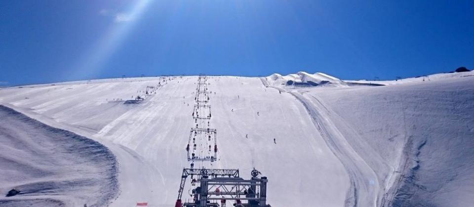 Esquí de verano en Tignes y Les 2 Alpes