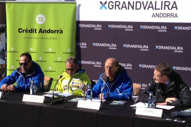 Grandvalira recibe la Copa de Europa con una pista Avet que presenta las mejores condiciones