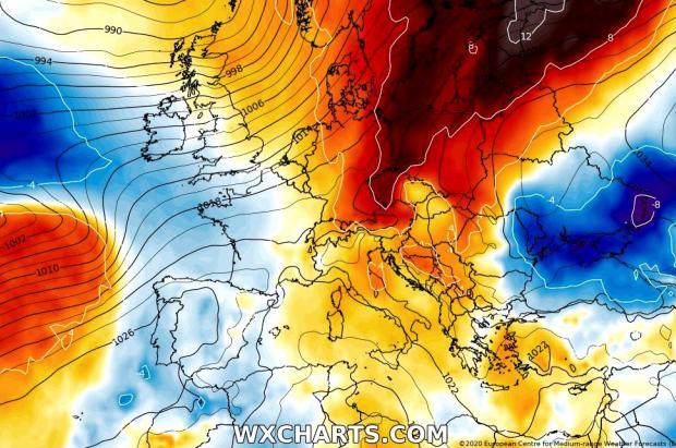 Fin de semana de nevadas débiles a la espera de un posible gran cambio tiempo en Navidad