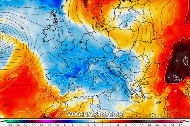 Meteo: jueves con lluvias y nevadas en la mitad norte. Fin de semana más estable
