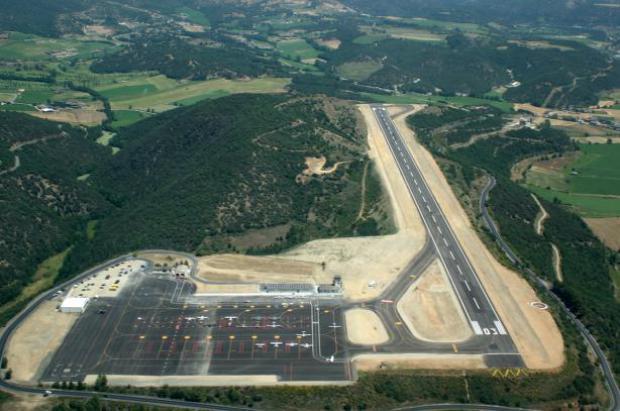 La instalación del sistema GPS en el aeropuerto de Andorra-la Seu se demora hasta 2020