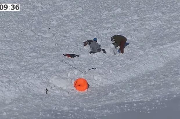 Un vídeo analiza la avalancha en el del Tuc de la Llança en la que 3 esquiadores resultaron heridos