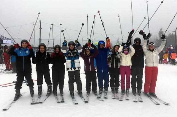 Así hemos vivido el bautizo de esquí que se ha organizado este domingo en La Molina