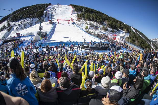 Andorra demuestra que las competiciones de esquí pueden ser un éxito de público y mediático