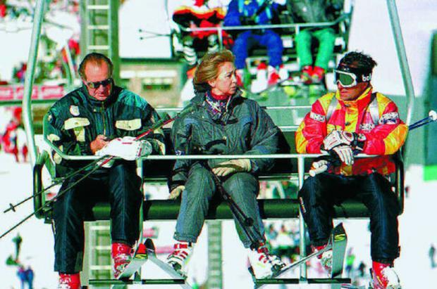 El  rey Juan Carlos tiene terrenos en Sierra Nevada hacia donde podía extenderse la estación de esquí