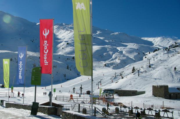 Estado de las pistas de Cerler a mediados de diciembre de 2012