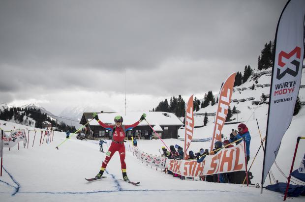 Clàudia Galicia brilla con un oro y una plata en el Campeonato del Mundo de esquí de montaña